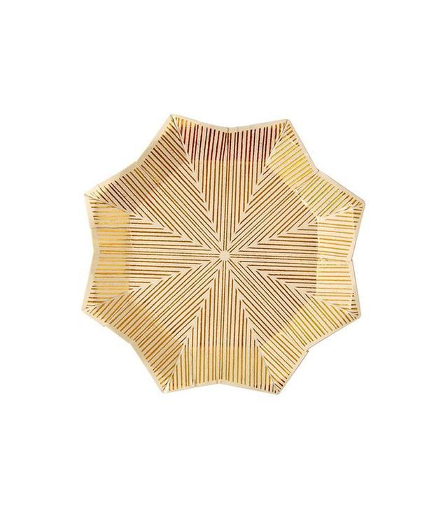 Meri Meri Foil Star Small Paper Plates
