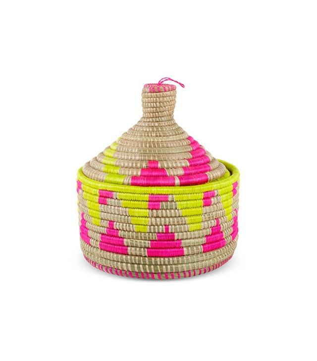 Furbish Neon Marrakech Basket