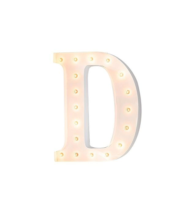 Pottery Barn Kids White Marquee Letters