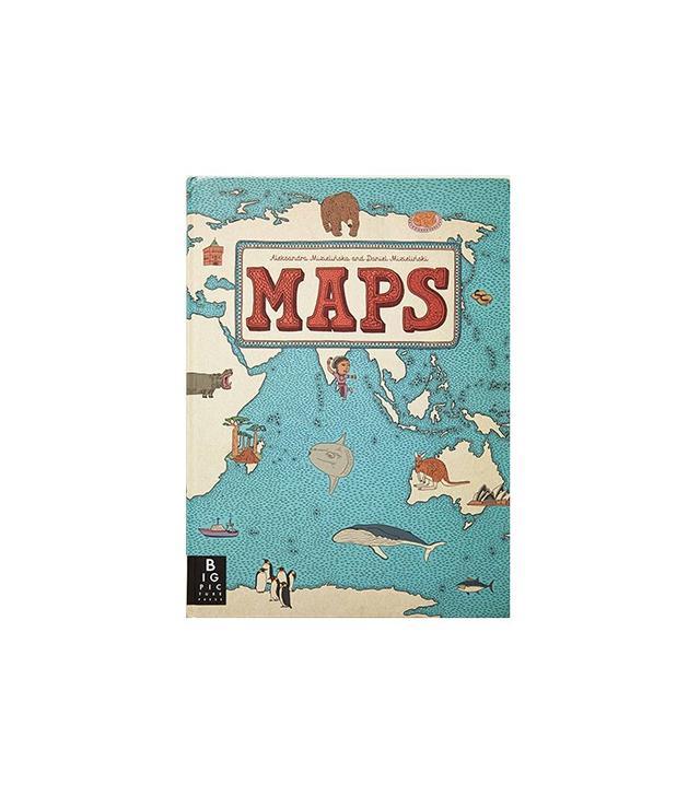 Anthropologie Maps by Aleksandra and Daniel Mizielinski
