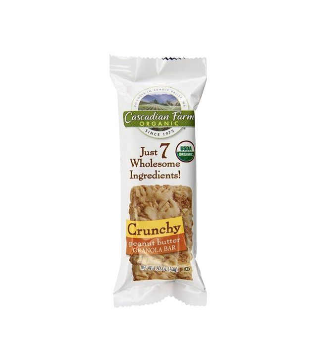 Cascadian Farm Box of 10 Peanut Butter Organic Crunchy Granola Bars