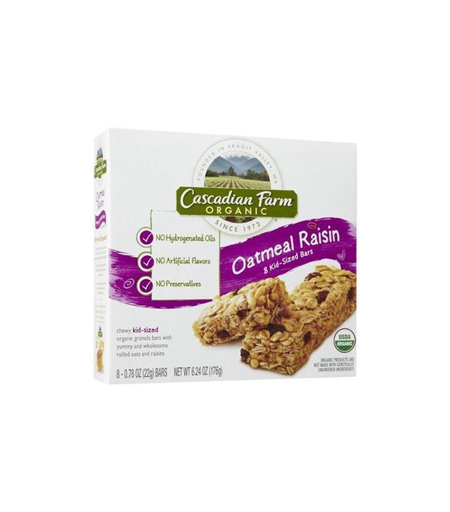 Cascadian Farm 96 Oatmeal Raisin Chewy Kid-Sized Bars