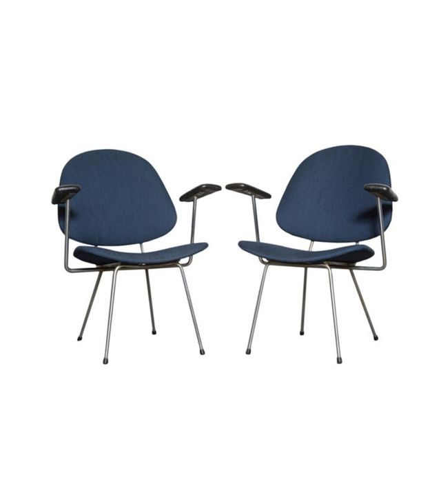Kembo Style Pair of Armchairs