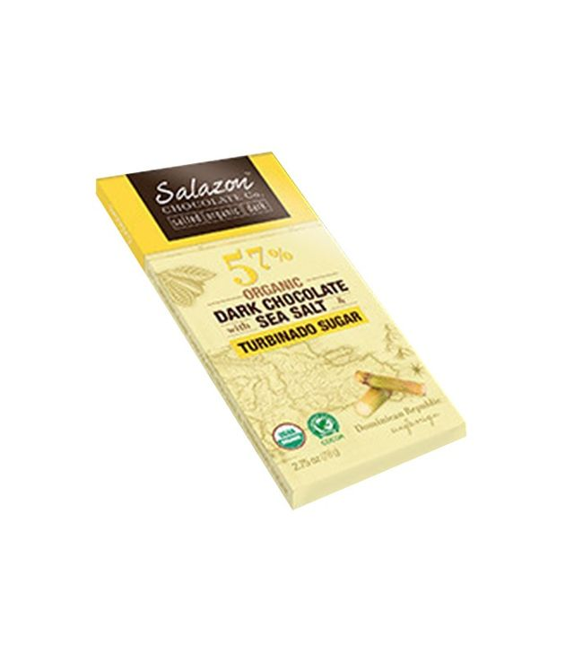 Salazon Organic Dark Chocolate With Sea Salt & Turbinado Sugar