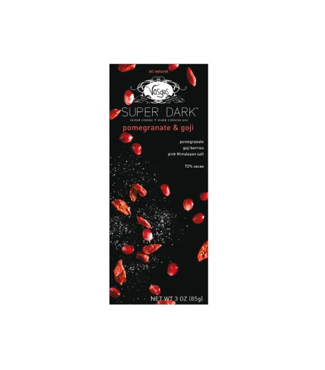 Vosges Pomegranate & Goji Super Dark Chocolate Bar