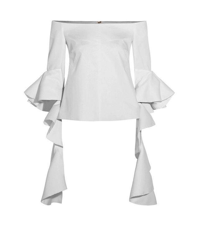 Ellery Dolores Cotton Poplin Top