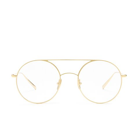 Fisher Round-Frame Glasses