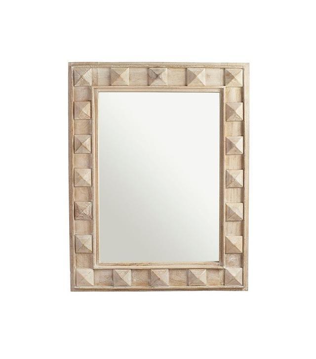 Wisteria Pyramid Stud Mirror