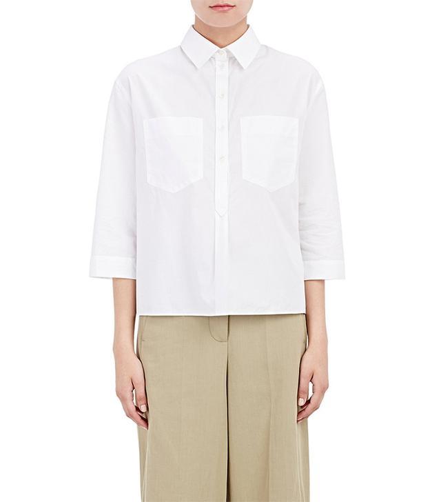 Cedric Charlier Poplin Shirt