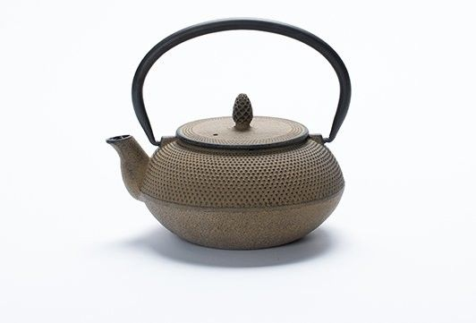 T2 Tea Rich Fruity Booty Nail Head Brown Teapot