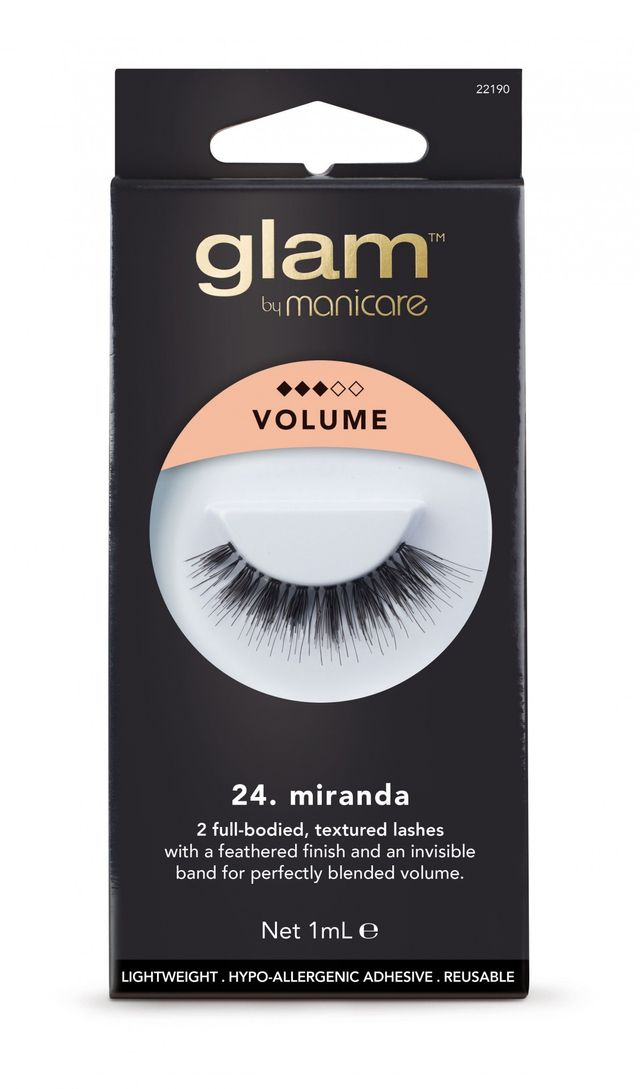 Manicare Glam Miranda Lashes 1 Pair