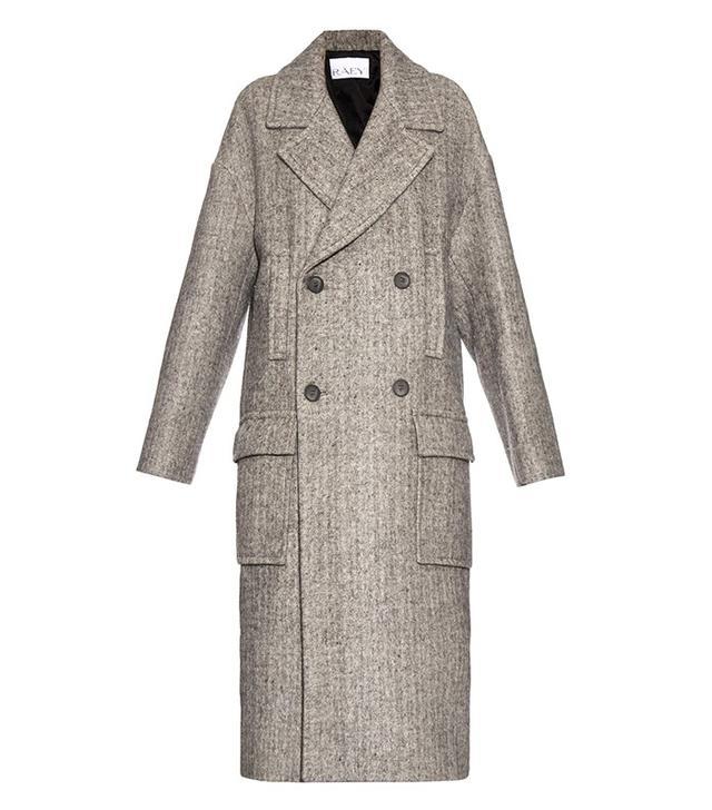 Raey Oversized Wool-Blend Coat