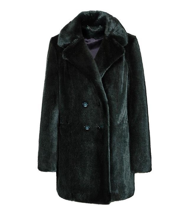 Reiss Terri Faux Fur Coat