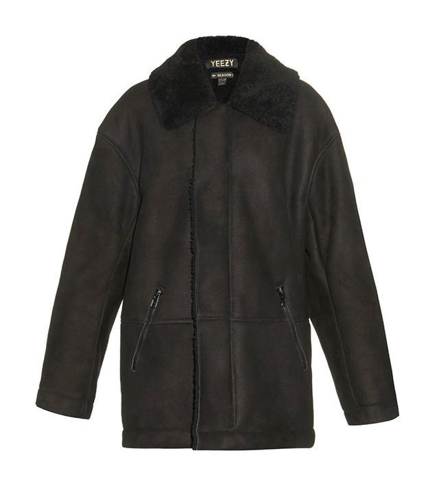 Yeezy Season 1 Oversized Sheepskin Coat