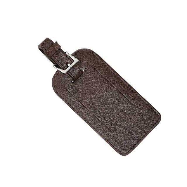 Papier DÁmour Leather Luggage Tag
