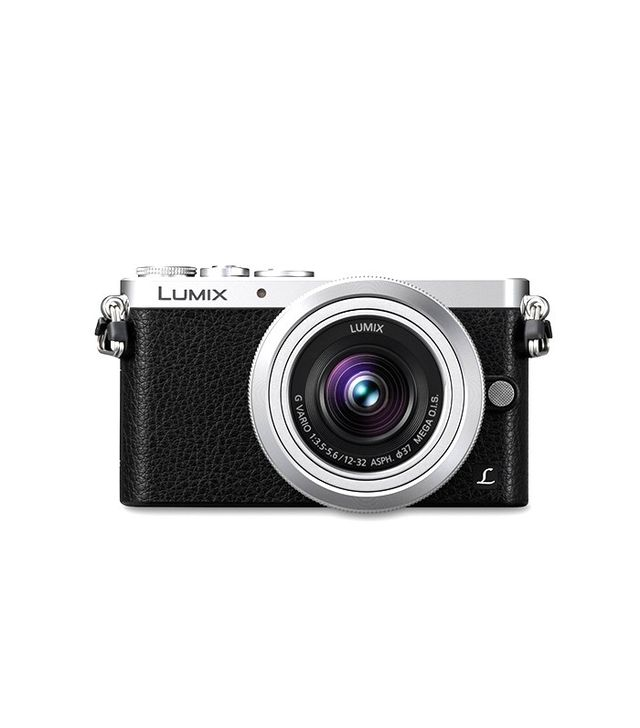Lumix Mirrorless Digital Camera With 12-32mm Silver Lens Kit