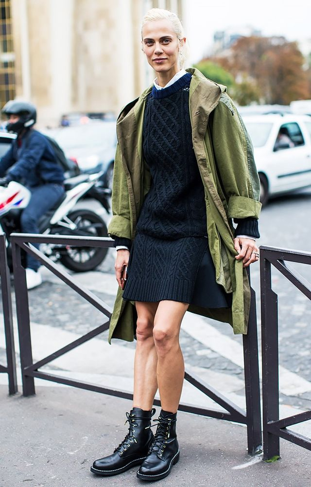 15 Different Ways to Style the Military Jacket Trend | WhoWhatWear