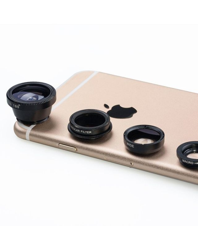 Luxsure Universal 4 in 1 Cell Phone Camera Phone Lens Kit