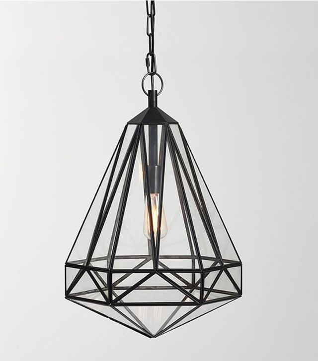 Pottery Barn Faceted Indoor/Outdoor Pendant