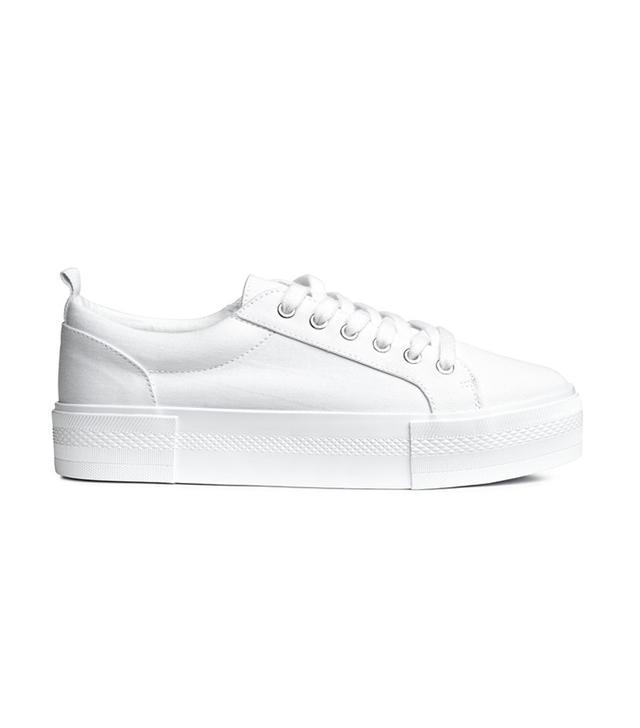best white sneakers - H&M Sneakers