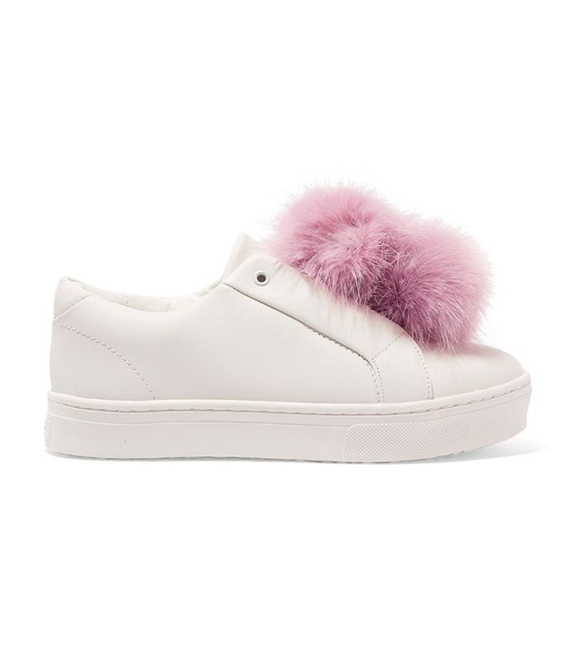 best white sneakers -  Sam Edelman Leya Sneakers