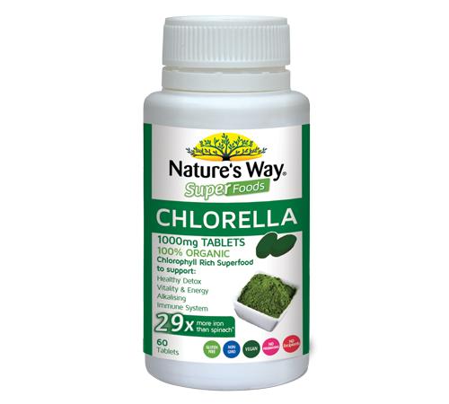 Nature's Way Chlorella Tablets