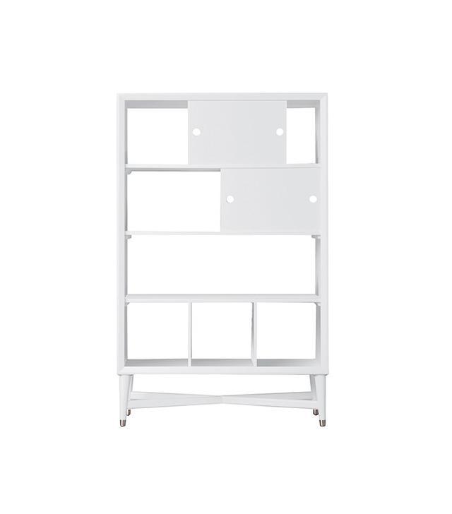 DwellStudio Midcentury White Bookcase