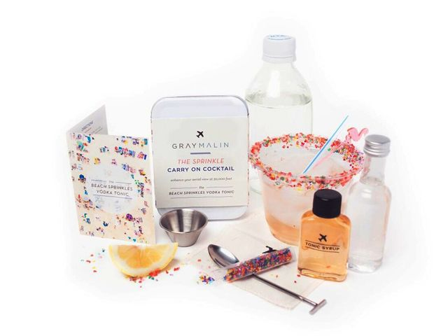 Gray Malin The Sprinkle Carry-On Cocktail Kit
