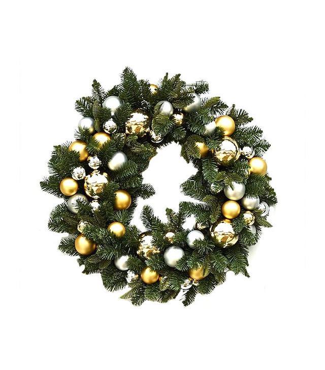 Pottery Barn Outdoor Ornament Pine Wreath
