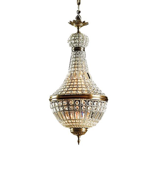 Restoration Hardware 19th Century French Empire Crystal Chandelier