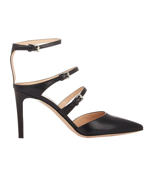Gianvito Rossi Triple-Strap Pumps