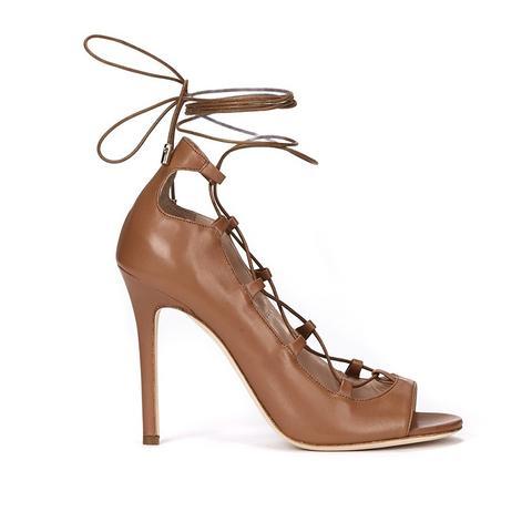 High Heel Lace Up Sandal