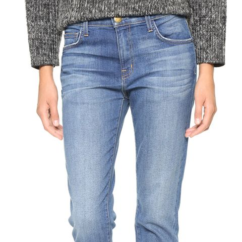 The Principle Mid Rise Boyfriend Jeans
