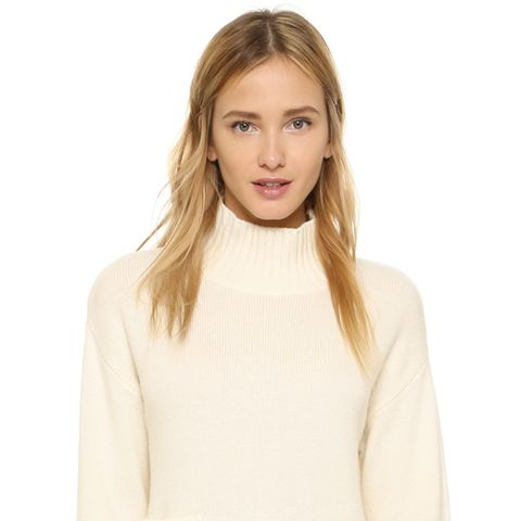 Le Crop Patch Pocket Sweater