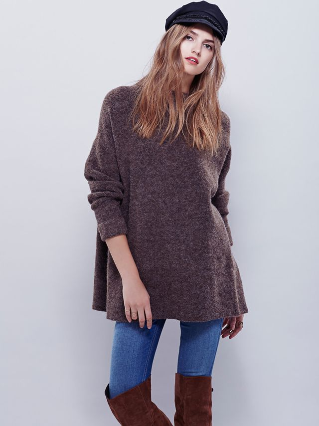 Free People Winding Ivy Pullover