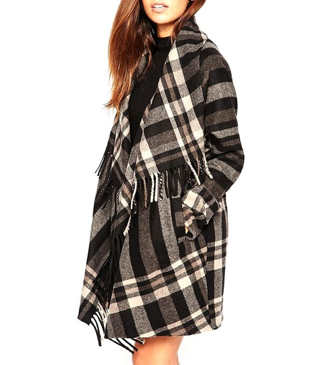 Warehouse Check Blanket Coat