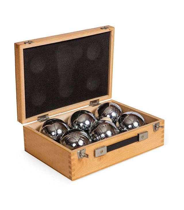 Vintage Bocci Ball Set in Box