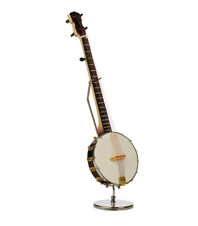 Vintage Mini Banjo on Stand