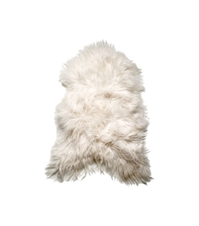 Co Concept Sheepskin Rug in White
