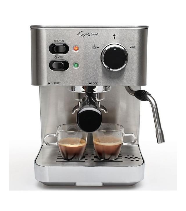 West Elm Capreson Stainless Steel Espresso Maker