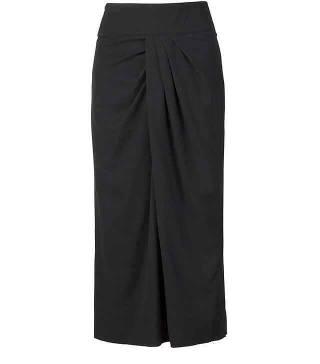 Alexander Plokhov Twist-Detail Skirt
