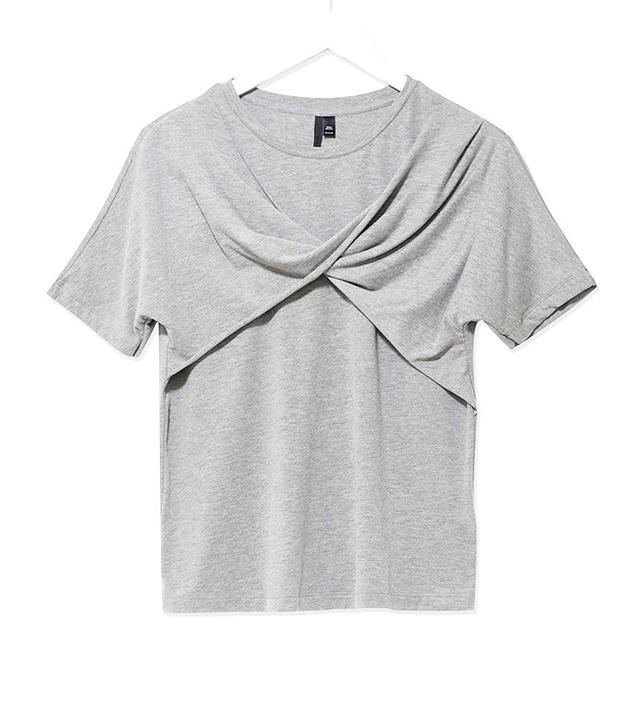 Topshop Boutique Twist T-Shirt
