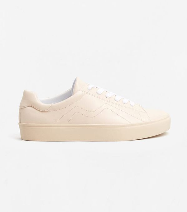 Mango Stitched Sneakers