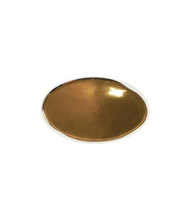 Dot & Bo Go for the Gold Glazed Platter