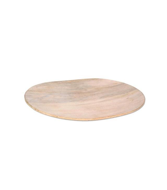 Dot & Bo White Mango Wood Serving Platter