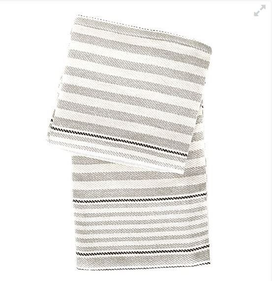 Dash & Albert Rugby Stripe Throw Rug