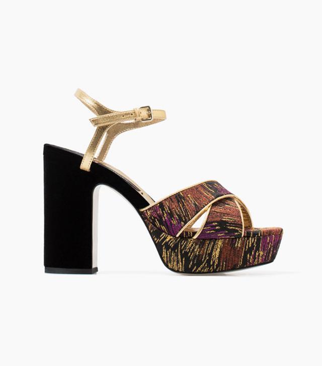 Uterque Decorative Sandals