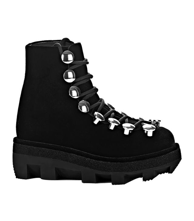 Alexander Wang Sam Low Lace-Up Boots