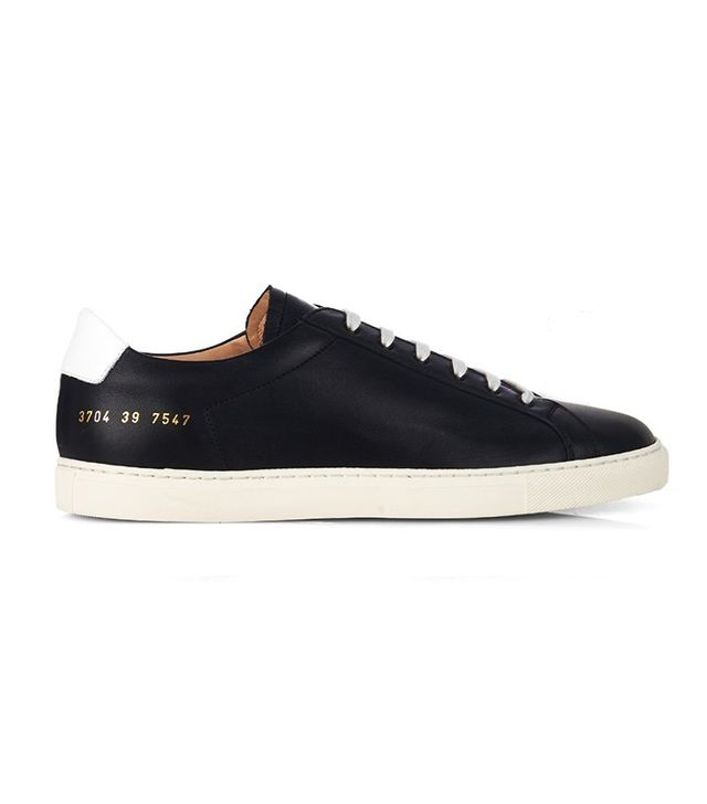 Common Projects Achilles Retro Leather Low-Top Trainers