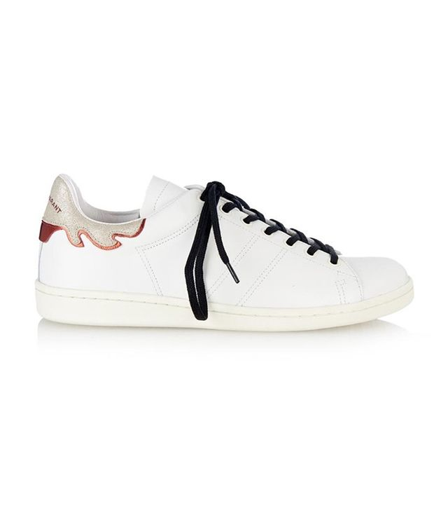 Isabel Marant Bart Leather Trainers